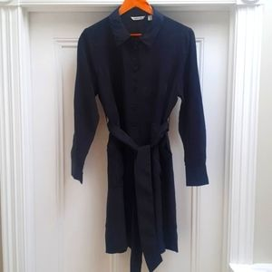 Black Country Road utility belted dress